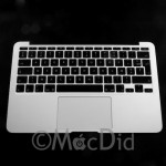 "Top Case complet AZERTY MacBook Air 11"" Mid 2012 A1465"