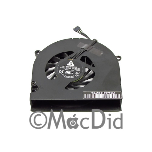 Ventilateur MacBook 13″ Unibody A1342 661-5418 661-9530 922-9530