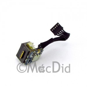 "Carte connecteur courant MagSafe DC-IN MacBook 13"" Noir A1181 820-2286 820-1966-A 922-8268"