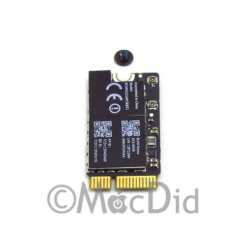 Carte WiFi Bluetooth MacBook Air 11″ et 13″ Airport/BT card 653-0009 BCM943224PCIEBT2