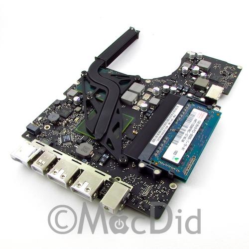 Carte mère MacBook Blanc Unibody A1342 2.4 Ghz + 2GO RAM 820-2877-A