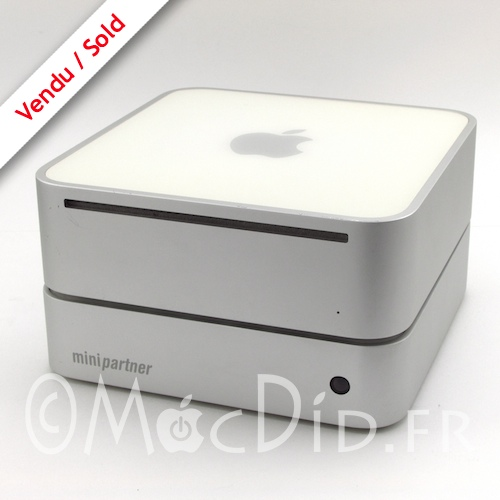 Mac Mini G4 1.42Ghz 1Go 100Go WiFi Bluetooth + MiniPartner 200Go